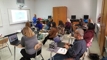 More than 100 WCPS teachers participate in tech training