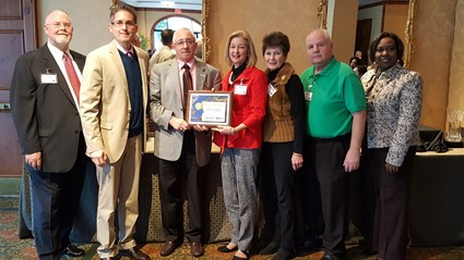 WCPS & CSS of Wayne County team receive NCSPRA award