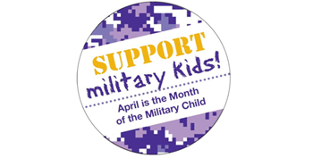 WCPS website homepage goes Purple on Thursday, April 18, to support Military-Connected students.