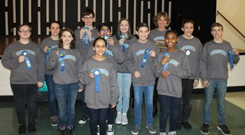 "Norwayne Middle Students Win District ""Battle of the Books"" Competition"
