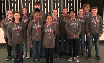 "Norwayne Middle takes second at Region 2 ""Middle School Battle of the Books"" Competition"