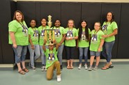 "Eastern Wayne Elementary wins Region 2 ""Elementary Battle of the Books"" Competition"