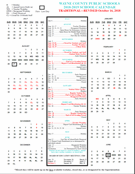 Image of printable calendar