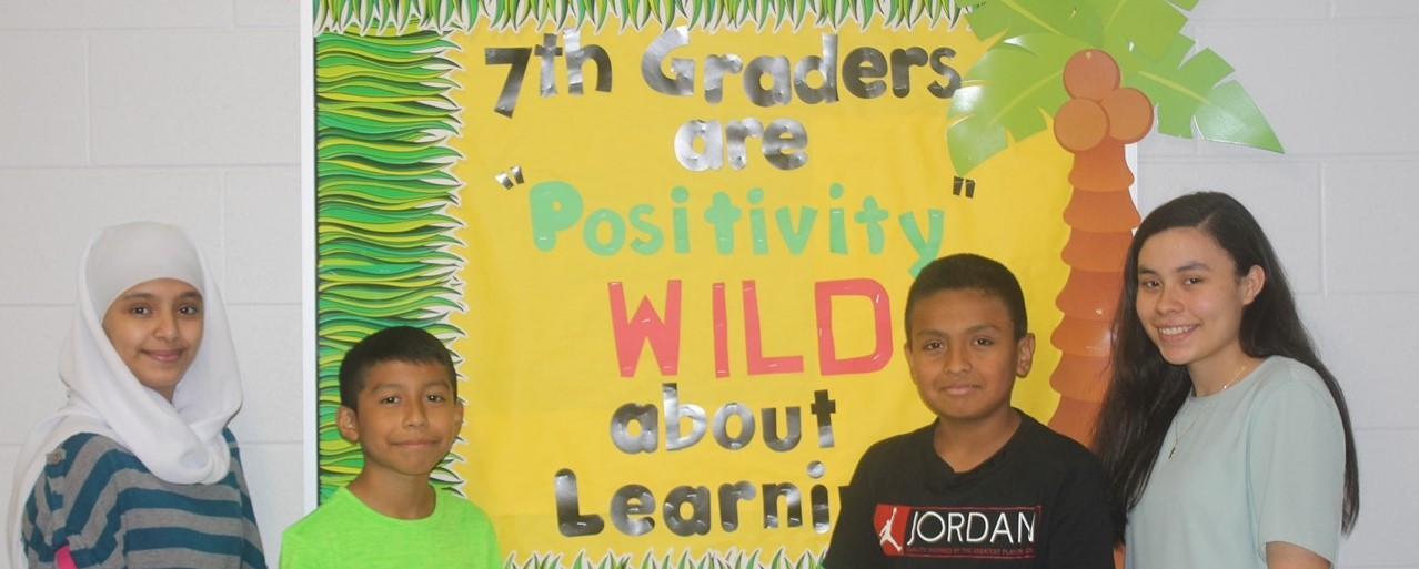7th Grade Positive Board