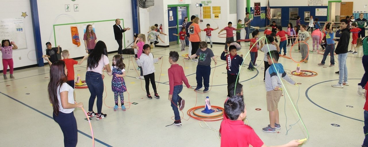 Jump Rope for heart whole group