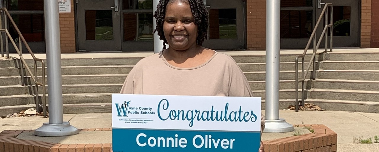 2019-20 Teacher of the Year Connie Oliver