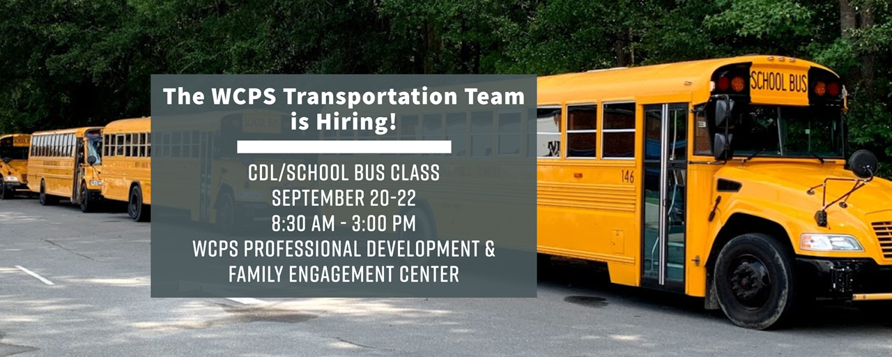 Bus Drivers Needed Banner