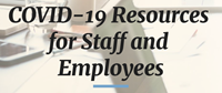 COVID-19 Staff Resource Graphic