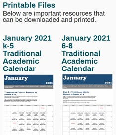 Link to calendar resources