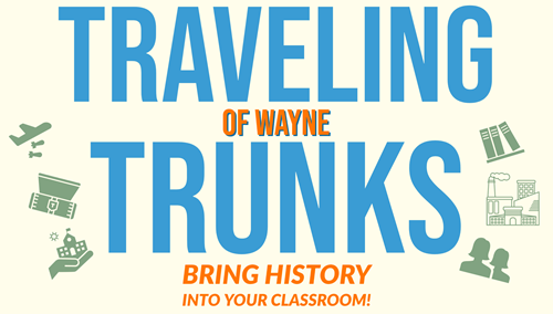 Traveling Trunks Button