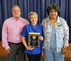 WCPS Volunteer of the Year recognition.