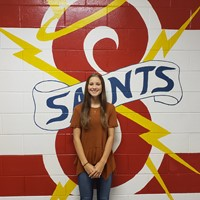 Daylan W. SWH Student of the Month (October)