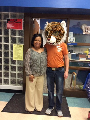 Tiger Pride with Mrs. Ward